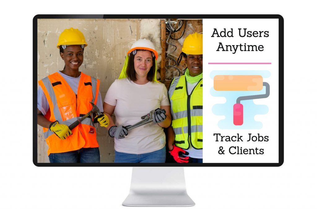 Job management system add users anytime