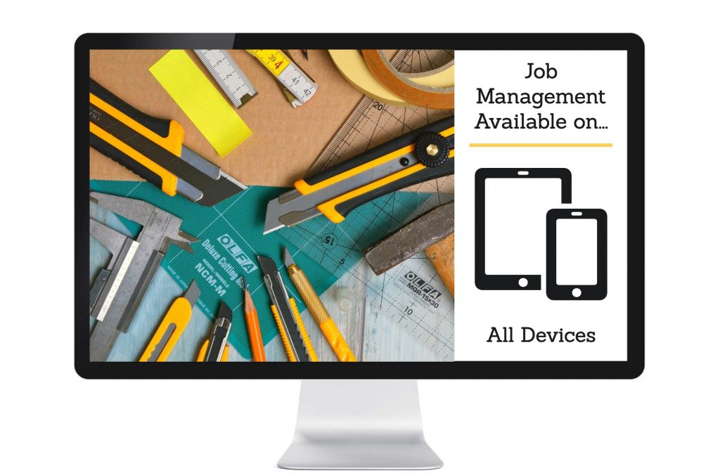 Job management system for all devices